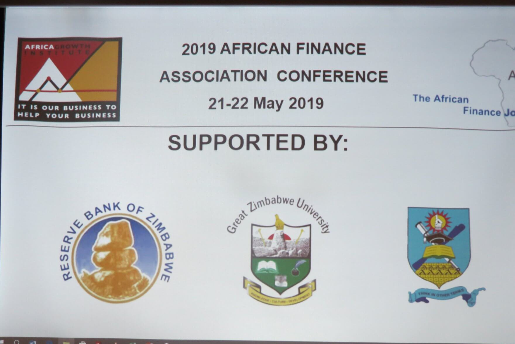 gzu GZU co-hosts the African Finance Association conference gzu afa conference gzu Great Zimbabwe University Homepage gzu afa conference