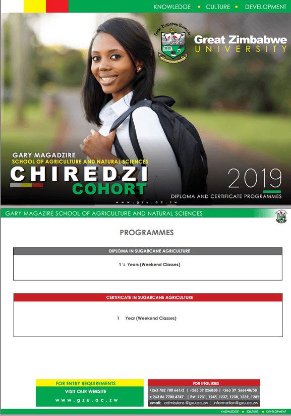 [object object] Great Zimbabwe University Homepage chiredzi