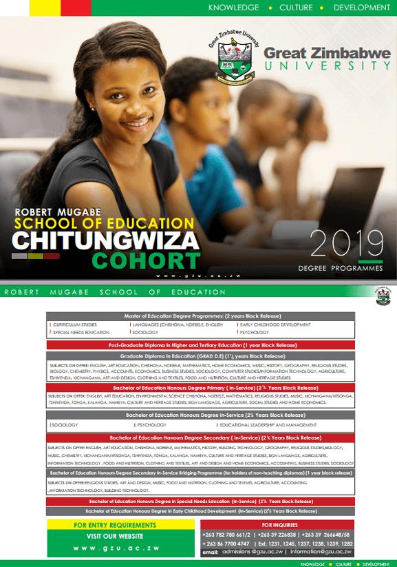 [object object] Great Zimbabwe University Homepage chitungwiza