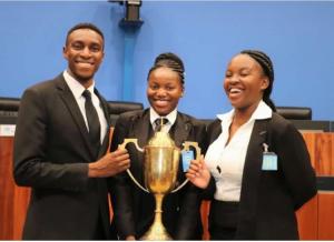 Great  Zimbabwe University are champions of Africa gzulawstudents 300x218