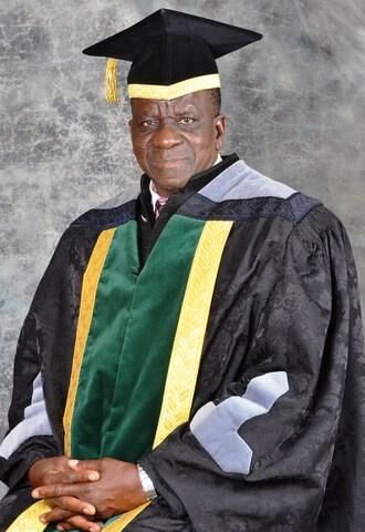 Professor R.J Zvobgo  Librarian vc
