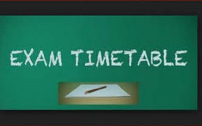 Examination Timetable undergraduate Great Zimbabwe University Homepage examtime 400x250
